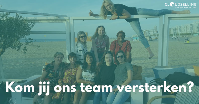 Team versterken Online Marketing