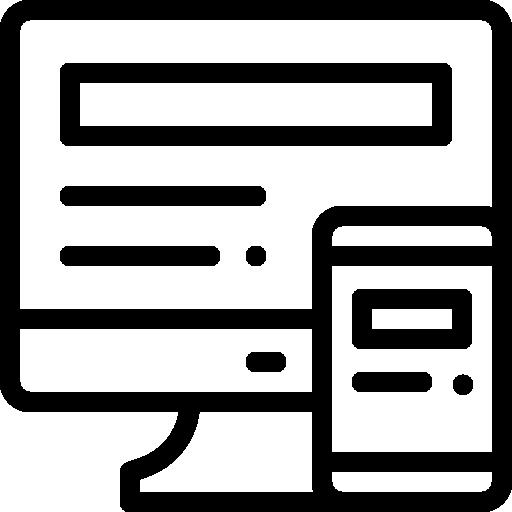 Display advertising icoon